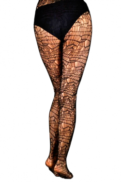Black Rihanna Fishnet